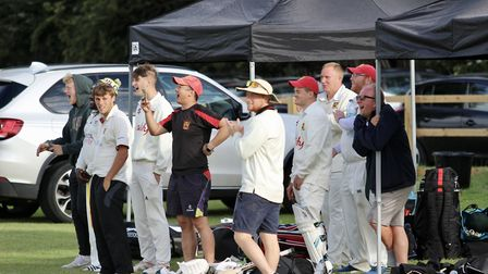 Congresbury celebrate their second victory over Weston in seven days