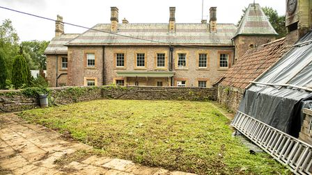 Redrow Homes have helped transform the disused swimming pool into a walled garden.