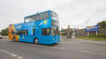 The Coaster open top bus. Picture: Jon Rowley