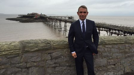 Wahid Samady, chairman of CNM Estates which owns Birnbeck Pier.