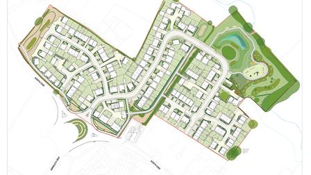 Plans have been approved for a 154-home development in Yatton.