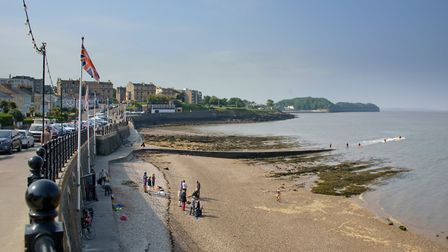 Clevedon Beach in 2018. Picture: MARK ATHERTON