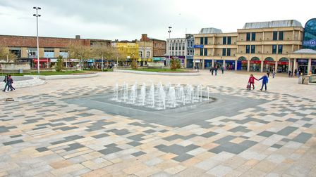 The Italian Gardens could be used as an outdoor trading space. Picture: Mark Atherton