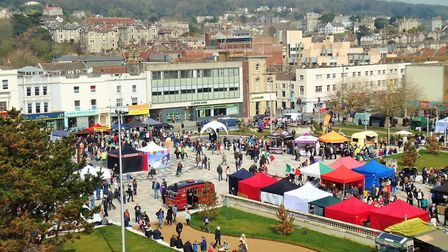 The Italian Gardens has previously hosted Eat Weston food festival. Picture: Nick Page Hayman