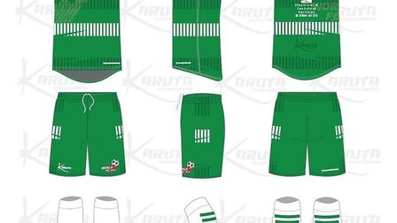 Worle FC will have their new kit sponsored by brothers Olliie and Harry Boyd.