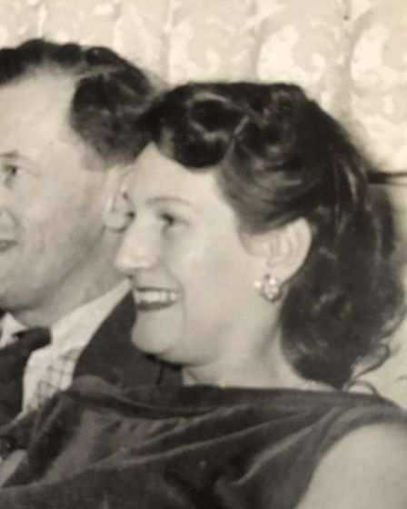 Leonard and Beryl Petty were married in 1947.