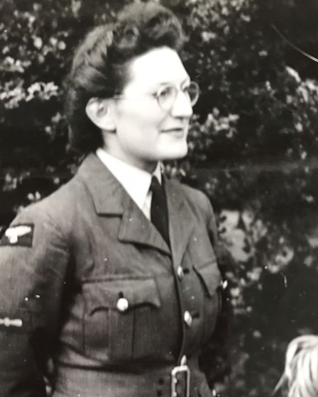 Beryl Petty spent time in the Women's Auxiliary Air Force.
