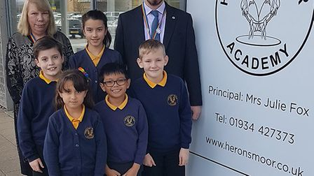 Herons' Moor Academy was given a 'good' rating by Ofsted.Picture: Dean Blake