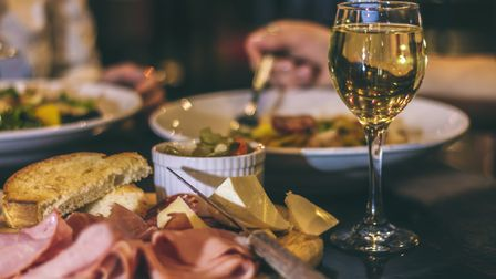 Wining and dining. Picture: Getty Images