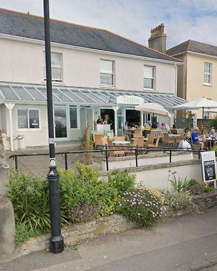 Tiffin Tea House in The Beach, Clevedon. Picture: Google Steet View