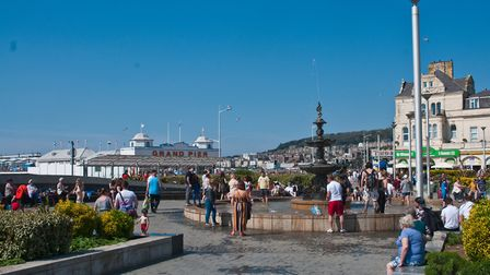 Parking is free on the seafront in the evenings to enable people to enjoy the views and night life.