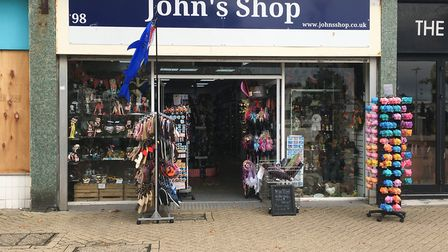Staff at John's Shop say they are scared to come to work due to problems with street drinkers and sh