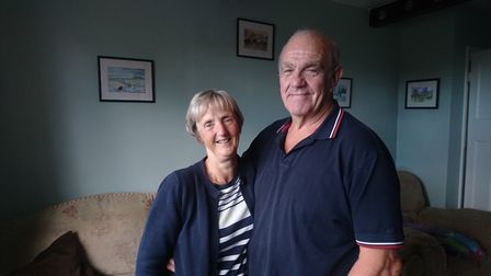 "Dave and Jackie Perry say the secret to their 50 years of marriage is ""plenty of give and take""."