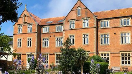 Priory Court and its gardens in Burnham. Picture: Country Court