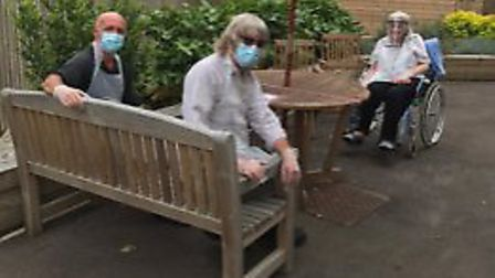 Country Court care homes have reopened to visitors across the country. Picture: Country Court