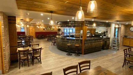 Wurzels star Tommy Banner has opened a refurbished restaurant at Rich's Cider Farm. Picture: Rich