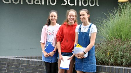Triplets Jessica, Gabriel and Bethany Shiel secured the A-Level grades they needed to attend univers