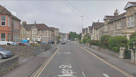 A man has been arrested after a 26-year-old was found with a puncture wound to his leg in Baker Stre
