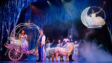 Cinderella at Weston Playhouse in 2019. Picture: McPhersonPhotography