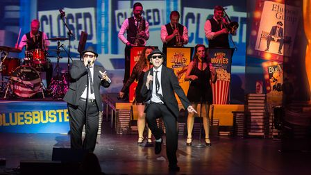 Chicago Blues Brothers were set to perform at the Playhouse in 2020. Picture: Jonathon Cuff
