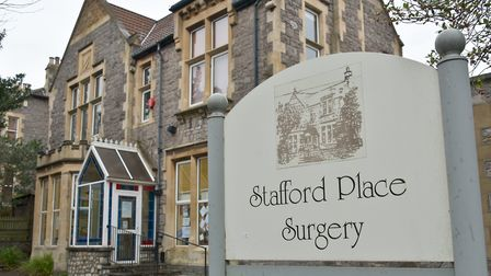 Stafford Place Doctors Surgery, Weston-super-Mare.