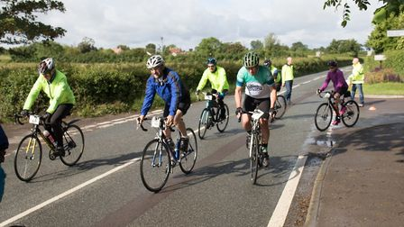 The Wedmore 40/30 charity cycle will go ahead this month.Picture: Weston Hospice