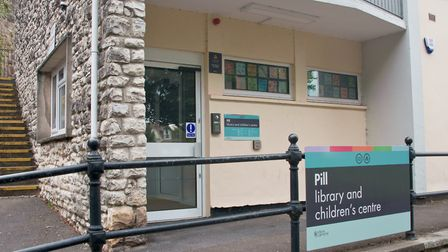 Pill Library and Children's Centre. Picture: MARK ATHERTON