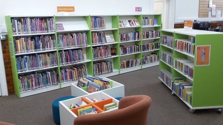 Worle Library and Children's Centre. Picture: North Somerset Council.