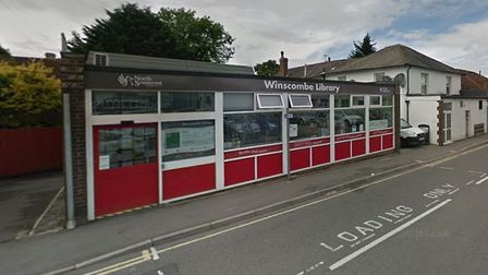 Winscombe Library. Picture: Google Street View