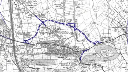 The Banwell bypass route.