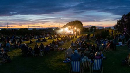 Loves Live On The Lawn. Picture: Paul Blakemore