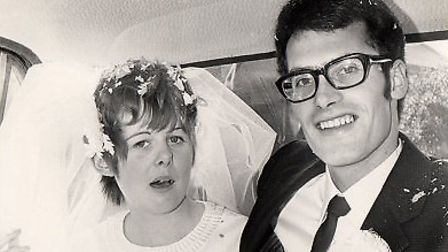 Roger and Tessa Bailey will celebrate their golden wedding anniversary on Saturday.Picture: Roger Ba