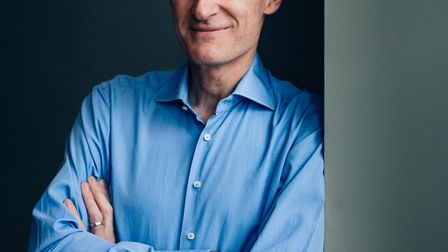 Jeremy Vine will be at the Wells Festival of Literature. Picture: Sopia Spring