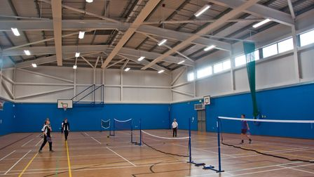 Views inside the Winterstoke Hundred Academy. Picture: MARK ATHERTON