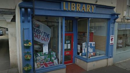 Cheddar Library. Picture: Google Street View