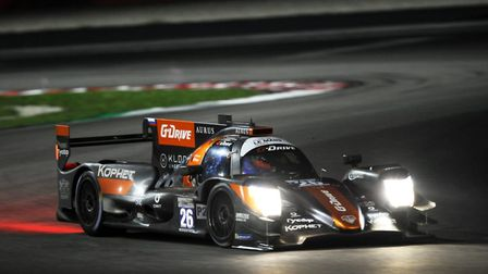Ryan Cullen will race in G-Drive colours for the first time at 24 Hours of Le Mans. Picture: Jakob E