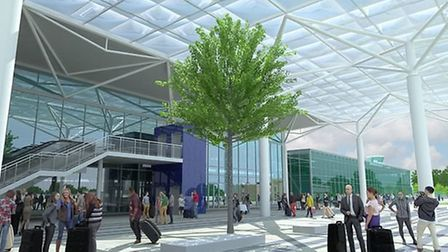 An artist's impression of Bristol Airport. Picture: Bristol Airport