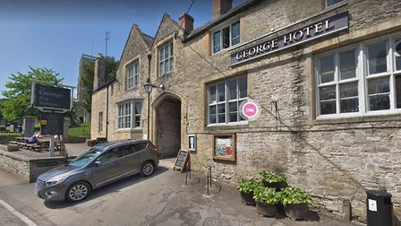 The George Inn in Wedmore.Picture: Google Street View