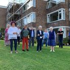 Residents face loosing their communal garden at White Lodge Park if plans are approved.Picture: Lily