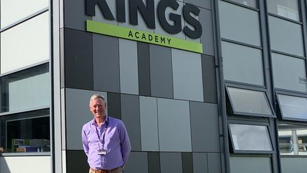 Chief executive Gavin Ball at the Kings of Wessex Academy.
