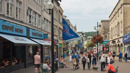 Weston High Street in July, 2019. Picture: MARK ATHERTON