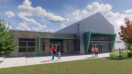 An artist''s impression of Chestnut Park Primary School. Picture: Clevedon Learning Trust