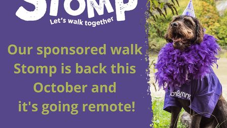 Penny Brohn will continue the Stomp fundraiser in October.