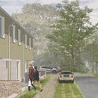 An image of what the new homes could look like.