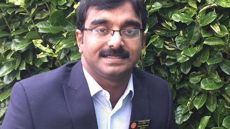 Home manager at Priory Court, Vimal Samuel. Picture: Priory Court Care and Nursing Home