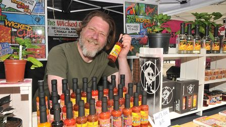 The Wicked Chilli Farm returns to eat:Weston this weekend. Picture: Jeremy Long