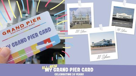 The My Grand Pier Card will be available from October 10.