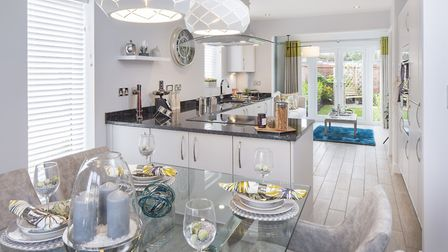 There are four, four and five-bedroom homes available to buy at Blagdon Gardens.