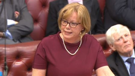 Baroness Smith of Basildon speaks in the House of Lords. Photograph: PA Wire.