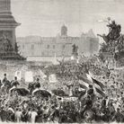 Garibaldi's visit to London in 1864 drew huge crowds. Picture: Getty Images